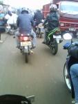 mengurai kemacetan